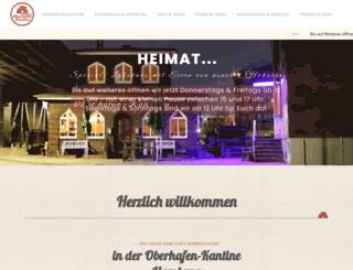 oberhafenkantine-hamburg.de screenshot