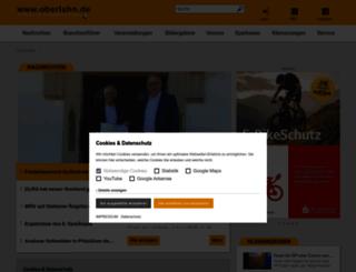 oberlahn.de screenshot