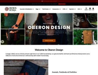 oberon-design.myshopify.com screenshot