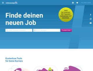 oberpfalznetz.stellenanzeigen.de screenshot