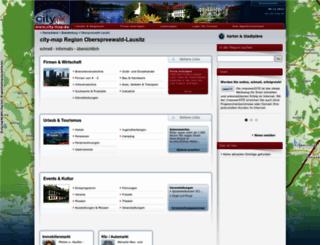 oberspreewald-lausitz.city-map.de screenshot