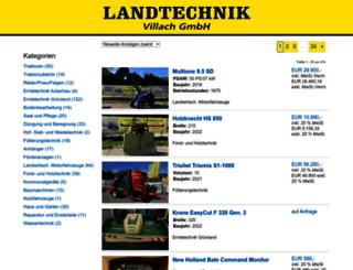 oberzaucher.landwirt.com screenshot