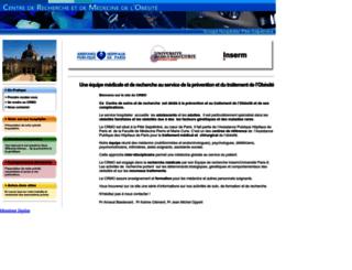 obesite-paris.com screenshot