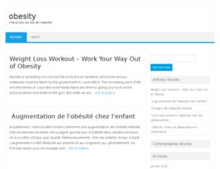 obesity.ml screenshot