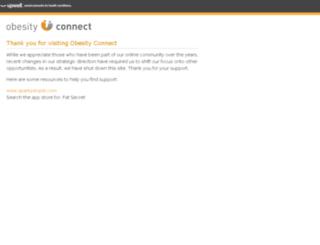 obesityconnect.com screenshot