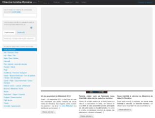 obiectiveturistice.drumliber.ro screenshot