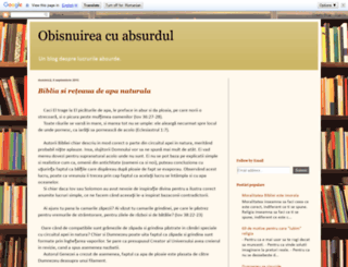 obisnuireacuabsurdul.blogspot.ro screenshot