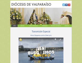 obispadodevalparaiso.cl screenshot
