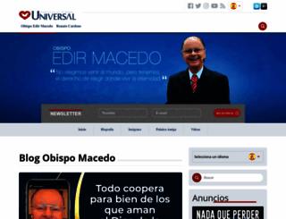 obispomacedo.com screenshot