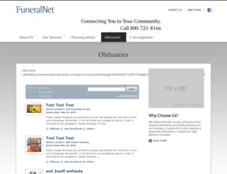 obit.memorialobituaries.com screenshot