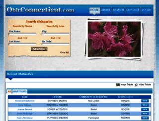 obitconnecticut.com screenshot