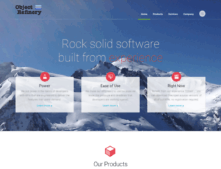 object-refinery.com screenshot
