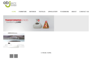 objectfurniture.co.za screenshot