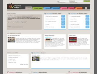 objectifexpo.com screenshot