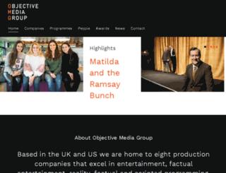 objectiveproductions.com screenshot