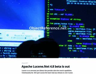 objectreference.net screenshot