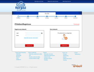 objednavka.forpsicloud.cz screenshot