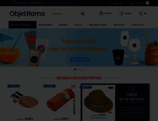 objetrama.fr screenshot