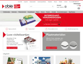 oble.nl screenshot