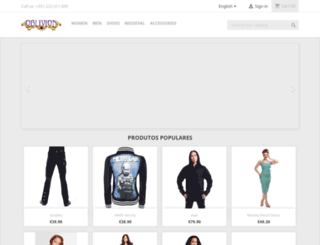 oblivionshop.net screenshot