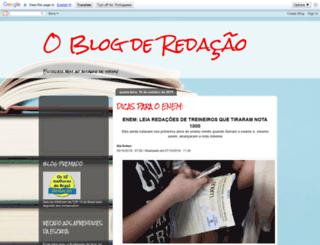 oblogderedacao.blogspot.com.br screenshot