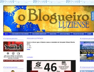oblogueiroluziense.com.br screenshot