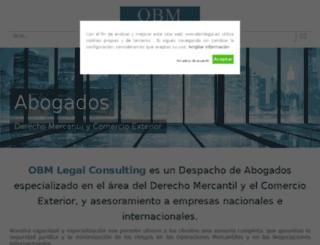 obmlegalconsulting.com screenshot