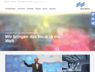 obr.messe-muenchen.de screenshot