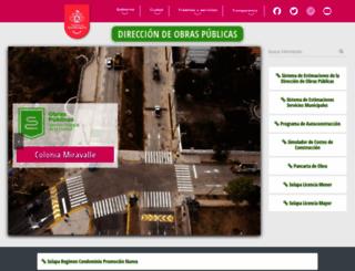 obraspublicas.guadalajara.gob.mx screenshot
