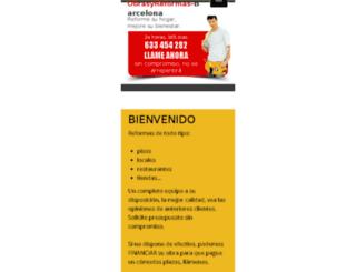 obrasyreformas-barcelona.com screenshot