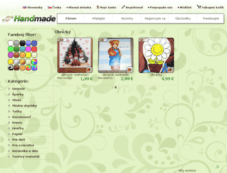 obrazky.handmade.sk screenshot