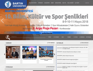 obs.bartin.edu.tr screenshot