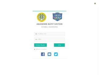 obs.istanbul.edu.tr screenshot