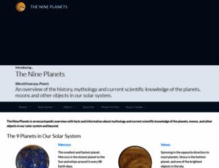 obs.nineplanets.org screenshot