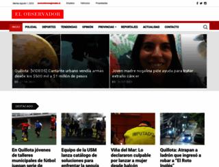 observador.cl screenshot