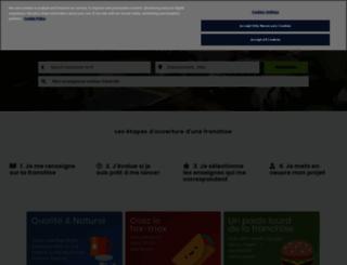 observatoiredelafranchise.fr screenshot