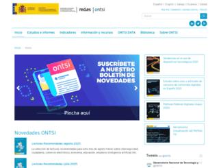observatorio.red.es screenshot