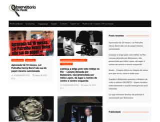 observatoriodarede.com.br screenshot
