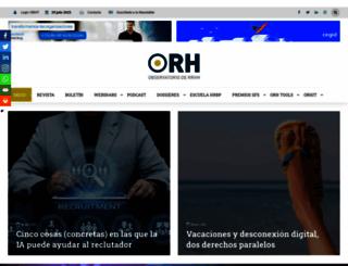 observatoriorh.com screenshot