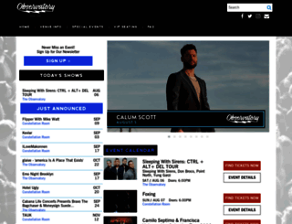 observatoryoc.com screenshot