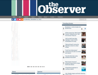 observer.case.edu screenshot