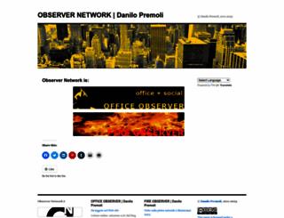 observernetwork.wordpress.com screenshot