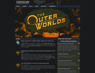 obsidianent.com screenshot