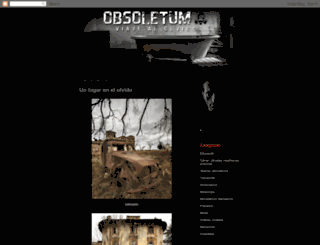 obsoletum.blogspot.com screenshot
