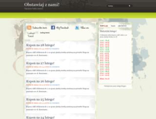 obstawiajznami.blogspot.com screenshot