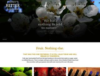 obsthof-retter.com screenshot