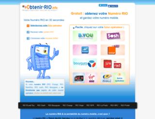 obtenir-rio.info screenshot