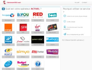obtenir-rio.net screenshot