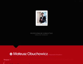 obuchowicz.pl screenshot