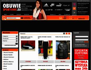 obuwie-sportowe.eu screenshot